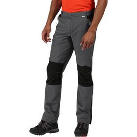 Regatta Sungari II Pantaloni Uomo, magnet/black
